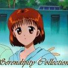 Marmalade Boy Miki (with Kei's arm around her) animation cel