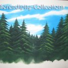Trees and sky production background