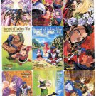 Record of Lodoss War PP reg card set (Complete)