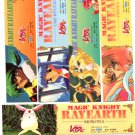 Magic Knight Rayearth reg PP Bookmark set (complete)