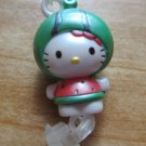 Hello Kitty phonestrap (green)