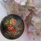 Beautiful flower bouquet broach (vintage) signed