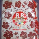 B.B. Hibiscus Girls large furoku tote bag