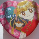 Dr. Rin Heart tin with pins