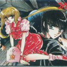 Mouryou Kiden phone card (manga art, 2) CLAMP