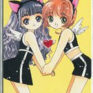 Card Captor Sakura (Cat Girls) phonecard