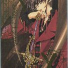 CLAMP X Phonecard (13) gold embossed foil