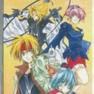 Star Ocean The Second Story Phonecard (2)