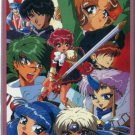 Magic Knight Rayearth (Group) Phonecard