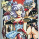 Unknown series similar to Langrisser phonecard