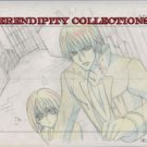Vampire Knight Production art (Zero protecting Yuki)- box 4