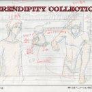 Yamato Nadeshiko, production art set (Boys in swim suits)