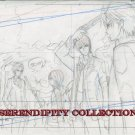 Vampire Knight Production art (Yuki and Zero using force at school)