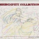 Yamato Nadeshiko, production art set (Noi hitting someone with bag)