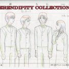 Yamato Nadeshiko, production art set (Noi and guys in waiter uniforms)