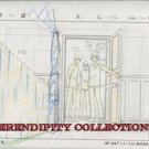 Yamato Nadeshiko, production art set (the guys looking into sunako's room)