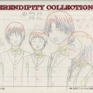 Yamato Nadeshiko, production art set (4 guys and Naoi laughing)