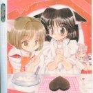 Chibi girls making cake shitajiki