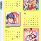 Fushigi Yuugi & other series shitajiki (NFS, Bandai Visual 97 Calendar)