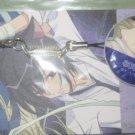 Loveless zipper pull and cel strap set (Yaoi)