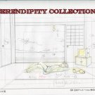 Yamato Nadeshiko Kyohei laying on floor production art set (box2)
