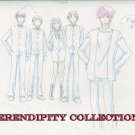 Yamato Nadeshiko Group smiling production art set (box2)