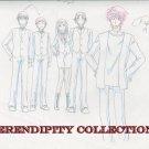 Yamato Nadeshiko Group smiling production art set (box2)