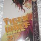 Mr. Tiger and Mr. Wolf vol 2 (yaoi manga)