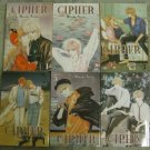 Cipher Manga Minako Narita (Complete) Vol 1-11 OOP Title!! MINT condition
