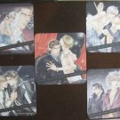 Target in the Viewfinder, Yaoi promo coaster cards set (OOP / RARE)