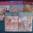 SugarHolic Manga / Manhwa set Vol 1-5 (COMPLETE) OOP & HTF