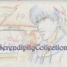 Mirage of Blaze - Japanese yaoi anime production Artwork Genga Sketch (NOT CEL)