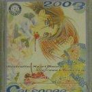Kaori Monchi K-Books 8th Anniversary 2003 Calendar Japan promo RARE OOP