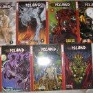 Island - Manga books vol 1-7  HTF, RARE, OOP