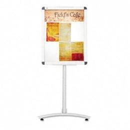 Quartet LCF2418 - Clip-Frame Pedestal Sign, Aluminum, 24 x 18, Aluminum - 4238126 (stock:83)