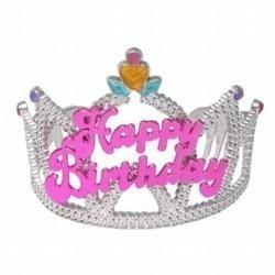 Deluxe Happy Birthday Tiara - 7110672  - (stock:25)