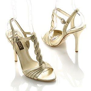 Sabetta T-Strap Satin Dress Sandal