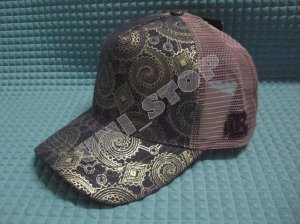 Mesh Cap (Pinkish Brown)