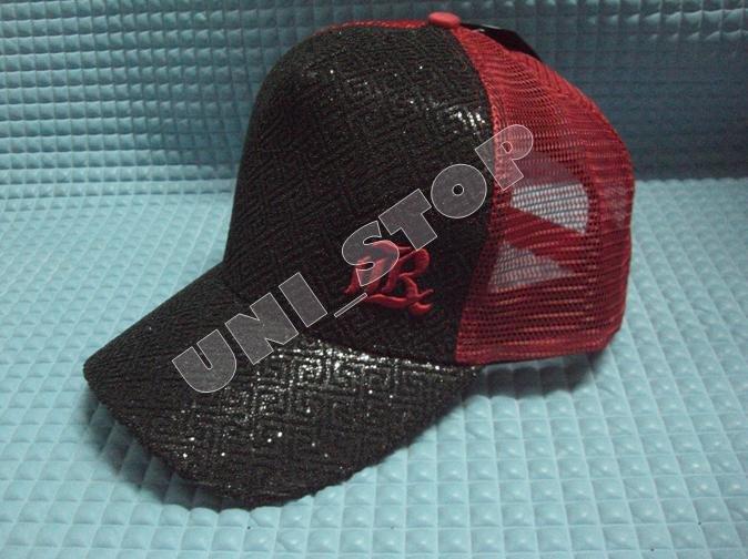 Mesh Cap (Reddish Black)