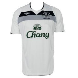 Everton Away 08/09