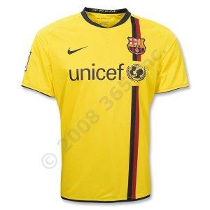 Barcelona Away 08/09