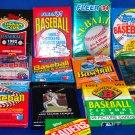 13 Unopened MLB Baseball Packs