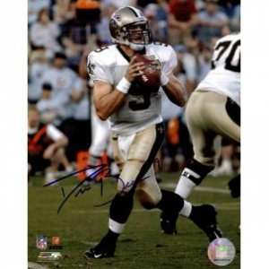 DREW BREES SAINTS SIGNED 8 X 10 W/COA