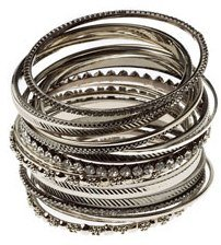Amrita Singh 19 Piece Beverly Bangle Set Lot 8 NEW $120