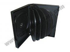 33mm DVD Case 10-in-1 Black 10 Pcs/Pack