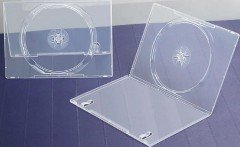 7mm DVD Case Single Super Clear