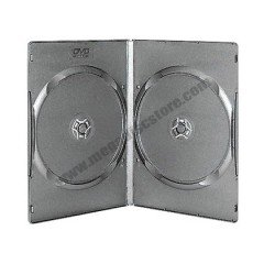 9mm DVD Case Double Black