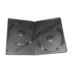 14mm DVD Case Double Black
