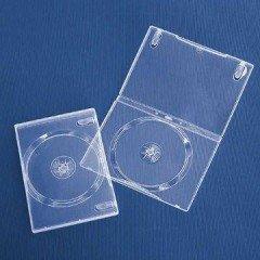 14mm DVD Case Single Super Clear 20pcs/pack