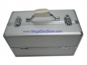 Silver Makeup Train Case Free Shipping